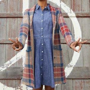 TOAD&CO. 100% Organic Cotton Chambray Shirt Dress